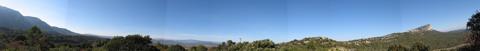 Pic Saint Loup Panorama